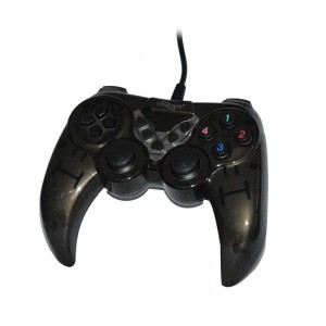 Manette de Jeux Simple Turbo Noir